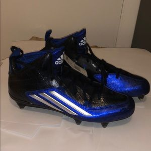 adidas crazyquick 2.0 mid cleats size 10 NWT